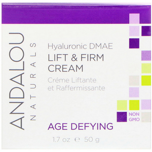 66Andalou Naturals Lift Firm Cream Hyaluronic DMAE